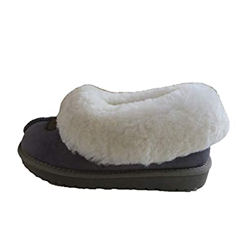 new Women's Genuine Suede Shearling Slip On Shoes Breathable Indoor Outdoor Moccasins for cheap