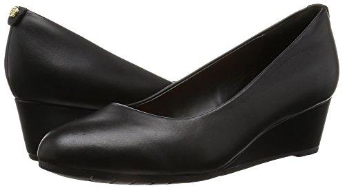 Vendra Clarks Donna Leather Sandali Nero black Con Bloom Zeppa RFqF1