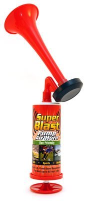 Max Professional 7218 Super Blast Pump Air Horn - Pack of 16 by Max Professional