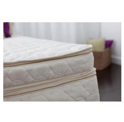 CA Harmony Organic Topper Talalay Latex - Size: california-king