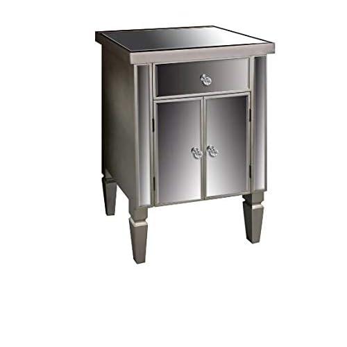 Venetian Lido 2 Drawer Mirrored Coffee Table: Mirrored Sideboard: Amazon.co.uk