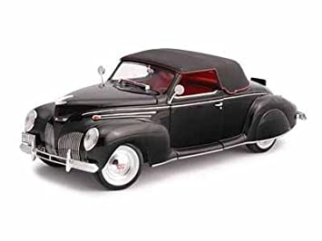 signature models 1939 lincoln zephyr 118 black