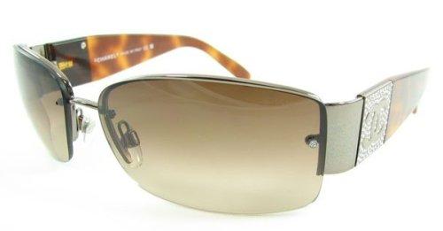 Amazon.com: anteojos de sol Chanel 4117b café Lente Havana ...