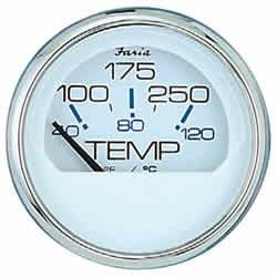 Faria 13804 Chesapeake 100-250°F Water Temp Gauge ()