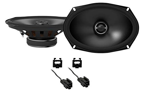Alpine S 6x9 Rear Factory Speaker Replacement Kit for 1995-2000 Dodge Stratus