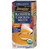 Imagine Foods Organic Kosher Free Range Chicken Broth -- 32 fl oz