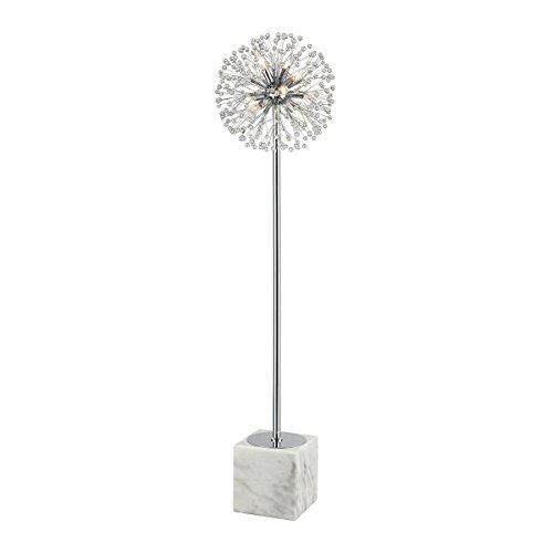 Diamond Lighting D3653 Floor lamp, Chrome, White ()