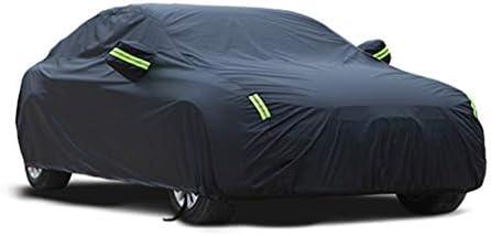 フィアット用特殊カーカバー厚オックスフォード布サンプロテクションレインカバーカーカバー (Color : Black, Size : Oxford cloth - built-in lint)