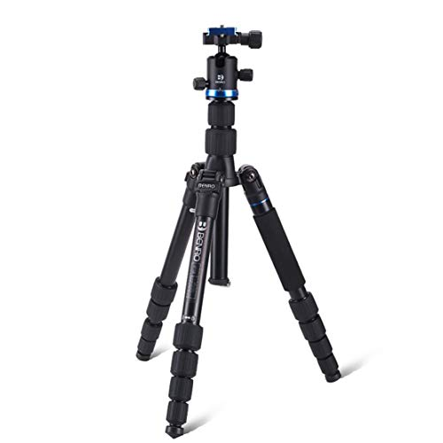 Tripod Multi Functional Professional Design Aluminum Alloy Compact Light Weight High Strength Easy to Carry Suitable for Sony Canon Nikon and Other Cameras