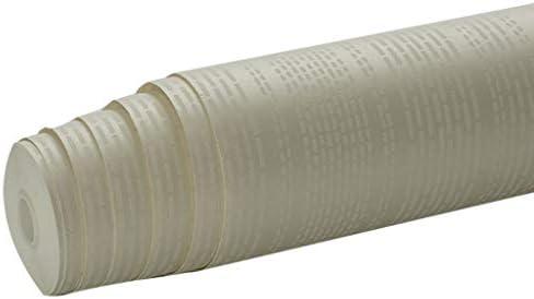 粘着式の取り外し可能なベニヤの皮および棒の無地の接触紙の解決の絵画壁紙の白