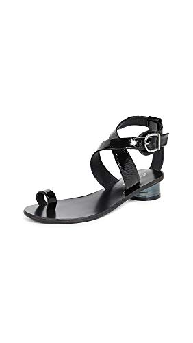 Jeffrey Campbell Women's Harlowe Strappy Sandals, Black, 7 M US