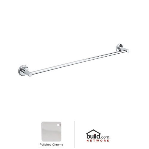 (Polished Chrome) Rohl LO1/24APC Lo1/24 Lombardia Towel Bar, 60cm , Polished Chrome B003WDYU0I光沢クロム