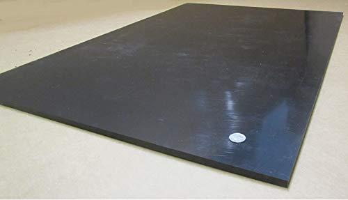x 24 x 36 HDPE 3//8 Black Sheet .375 High Density Polyethylene
