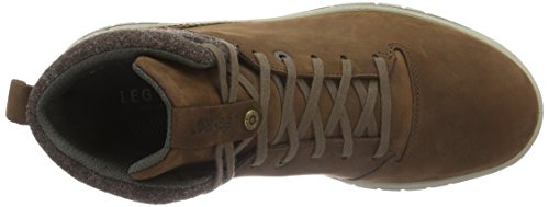 Legero Campo, Sneaker Alte Uomo Marrone (Braun (Mustang 48))