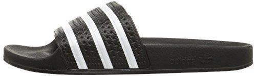 Sandales Black 280647 white Adulte Originals Adidas Adilette Mixte Bq8n4AAP