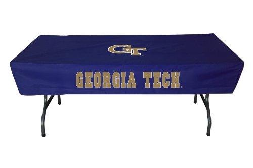 (Rivalry Georgia Tech 6 Foot Sports Team Logo Table Cover)
