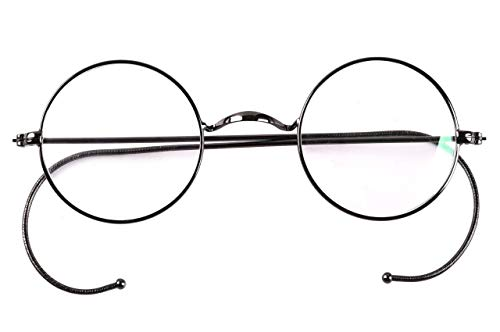 - Agstum Blue Light Blocking Reading Glasses, Small Round Wire Rim Readers for Computer Use Anti-Glare Cut UV400 Clear Lens