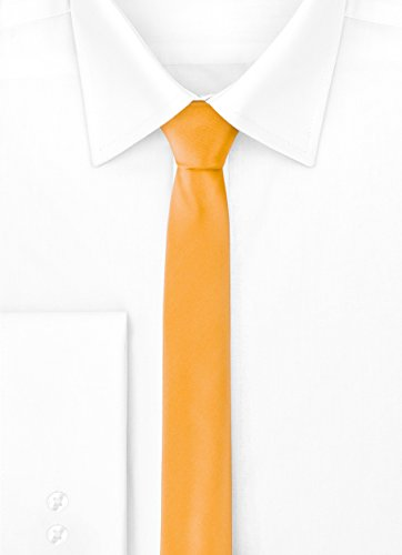 x Yellow 150cm Tie Ladeheid Mans Narrow Dark 5 SP 5cm gY71q