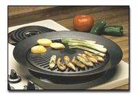Chefmaster KTGR5 13-Inch Smokeless Stovetop Barbecue Grill from Chefmaster