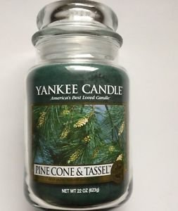 1320624 Pinecone and Tassel 22 ounce Large Jar Yankee Candle