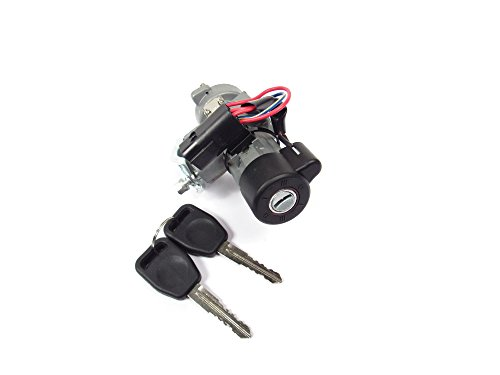 (Land Rover QRF000080 Ignition Lock Switch Retrofit Kit with Keys for Discovery 2)