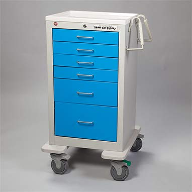 Divine Medical Waterloo Med Jr. Cart (Blue)