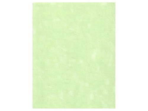 Sew Easy Industries 12-Sheet Velvet Paper, 8.5 by 11-Inch, Mint by Sew Easy Industries