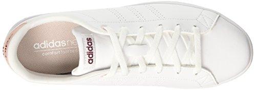 Deporte De Marfil White ftwr Mujer Qt F17 Clean Zapatillas Ruby Advantage Para mystery Adidas qIHwpp