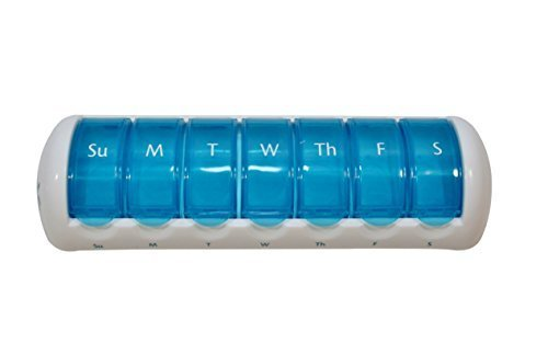 7 Day Travel Pods (Blue) 9 1/2