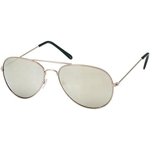7038b6df6f All Cheap Sunglasses - Phoenix - Silver - Gafas de Sol Aviador lente de  espejo montura