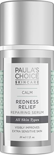 Paulas Choice CALM Redness Relief Repairing Serum with Hyaluronic Acid, 1oz. (1 Bottle) for Dry and Extra Sensitive Skin of the Face and Neck, Redness, Rosacea