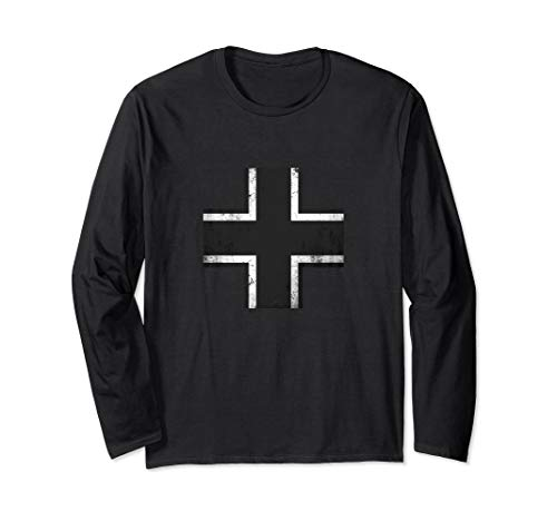- WWII German Military Balkenkreuz Iron Cross T-Shirt