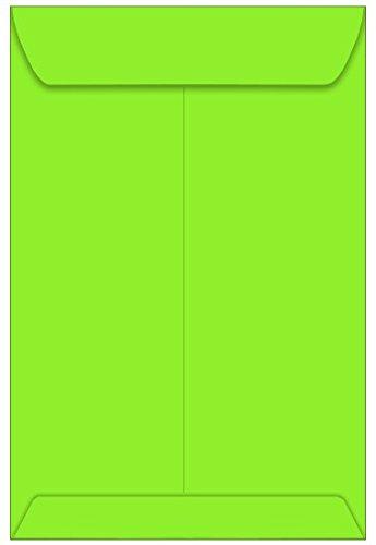 9x12 Astrobright Martian Green Envelopes - Catalog, 60T, 1000 Pack