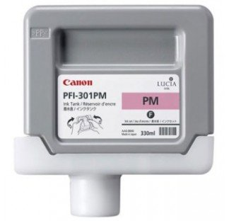 Canon Ink Tank PFI-301PM - Pigment Photo Magenta Ink Tank (Canon Imageprograf Ipf8100 Photo)