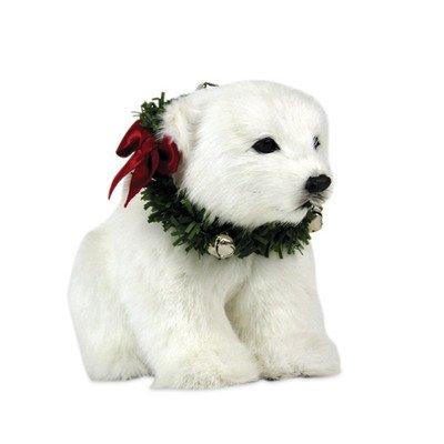 (Byers Choice Polar Bear Cub Seated)