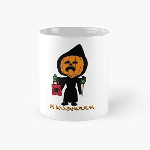 Personnage Citrouille Halloween 110z Mugs]()