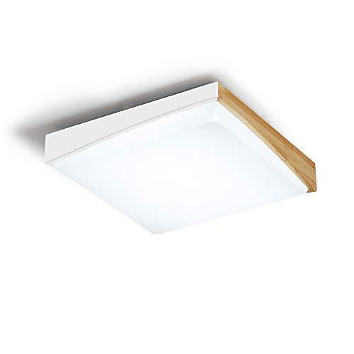 Amazon.com: Lámpara de techo de tamaño cuadrado ultraligero ...