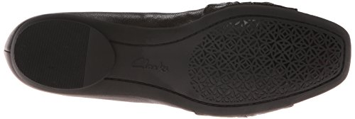 CLARKS Women's Candra Gleam Ballet Flat Black Leather footlocker online clearance sneakernews 8hnHXAunXT
