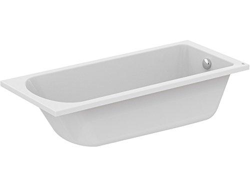 Ideal Standard Körperform-Badewanne HOTLINE NEU, 1700x750x465mm ... | {Badewanne standard 0}