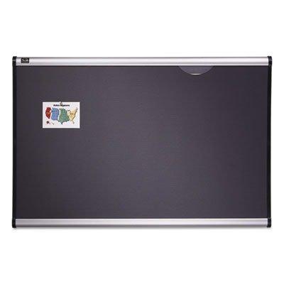 Quartet Prestige Plus Diamond Mesh Fabric Bulletin Board, 3 x 4 Feet, Aluminum Frame (B444A) by Quartet