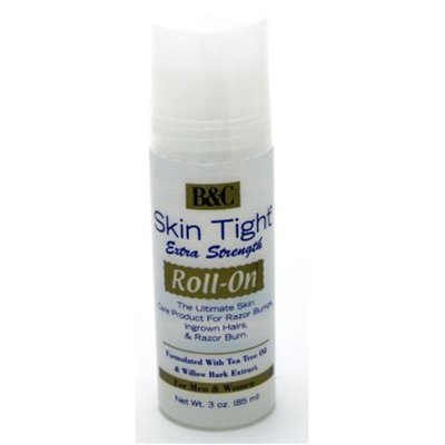 Skin Tight 3oz Roll-On Extra Strength (For Razor Bumps) B&C (3 Pack)