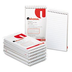 ** Wirebound Memo Books, Narrow Rule, 3 x 5, White, 12 50-Sheet Pads/Pack ()