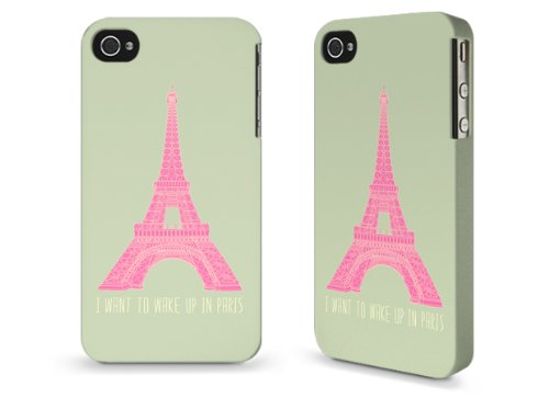 "Hülle / Case / Cover für iPhone 4 und 4s - ""Oui Oui"" by Bianca Green"