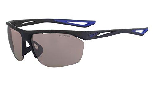 NIKE EV0946-404 Tailwind E Frame Speed Tint Lens Sunglasses, Matte Obsidian/Deep Royal Blue ()
