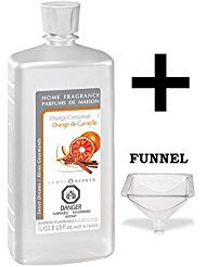Lampe Berger Fragrance - Orange Cinnamon Oil - 33.8 Ounce with FREE ()