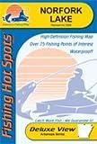 Norfork Lake Fishing Map (Arkansas Fishing Map Series)