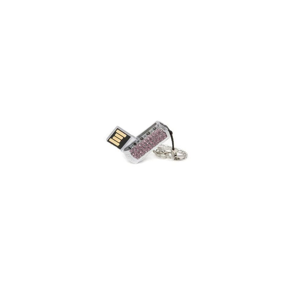 8GB Small Pink Crystal Simple Style USB Flash Drive