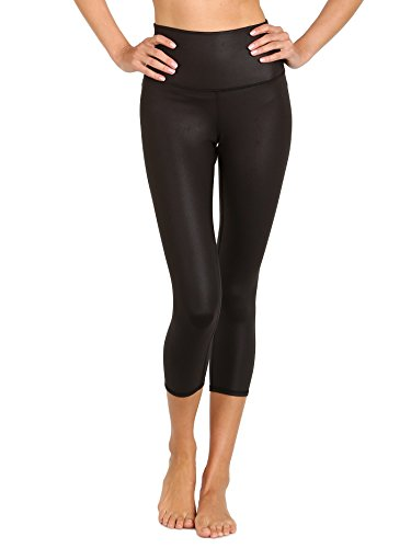 Alo Yoga Women's High Waist Airbrush Capri Legging, Black, Medium