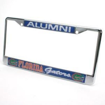 University Of Florida License Plate Frames - WinCraft Florida, University of S65904 LIC PLT Frame S/L Domed