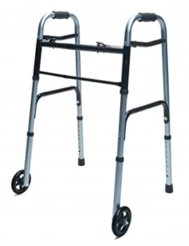 MOBILITY - Lumex ColorSelect Adult Walker with Wheels #716270G-1
